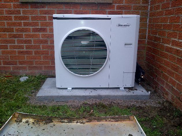Heat pump by Atmosphere of Widnes
