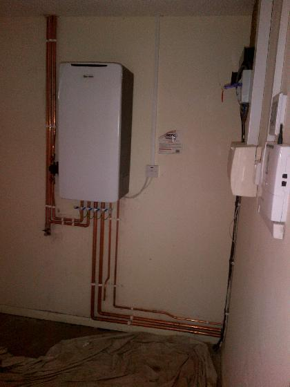 Boiler installation by Atmosphere of Widnes
