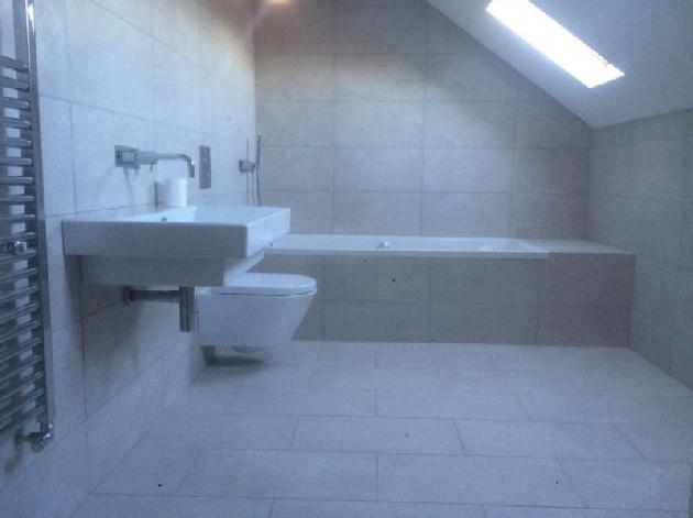 Bathroom install by Atmosphere of Widnes