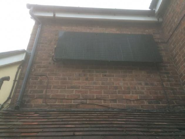 Solar panel installation by Atmosphere of Widnes